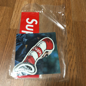 Supreme - Sticker Pack (FW18) - Cat in The Hat / Marvin Gaye / Classic Box Logo - KICKS 'N' STEEZ