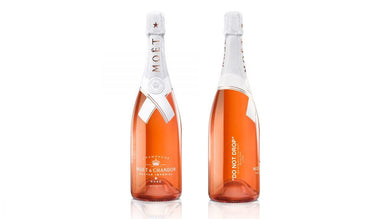 Off-White x Moet - Nectar Imperial Rose - Champagne