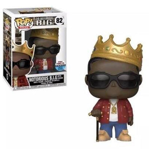Funko Pop - NYCC Exclusive - Notorious B.I.G. #82