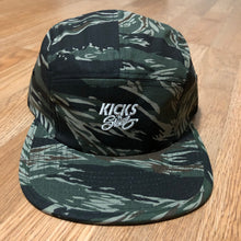 Kicks 'N' Steez - 5 Panel Camp Cap - Tiger Camo - KICKS 'N' STEEZ
