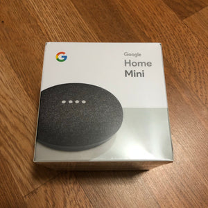 Google - Home Mini - Charcoal - KICKS 'N' STEEZ