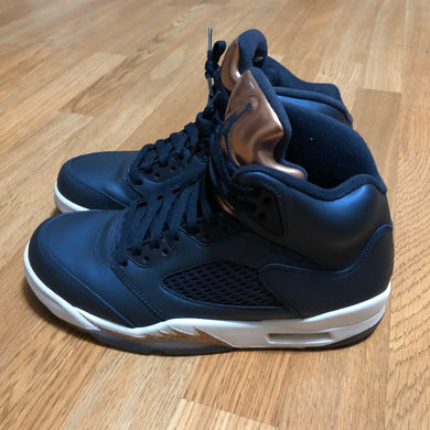 Air Jordan - Retro 5s - Bronze - sz 8 Mens