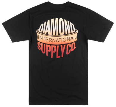 Diamond Supply - International Tee - Small - KICKS 'N' STEEZ