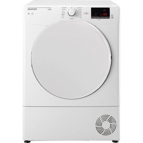 Hoover HLC10DF 10kg Condenser Tumble Dryer - White - B Rated - Appliance Village