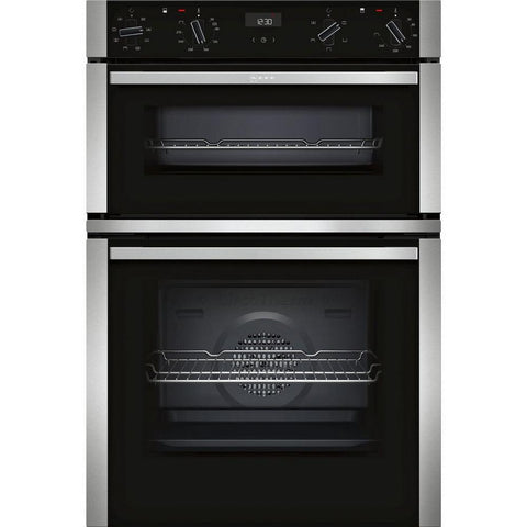 Neff U1ACE2HN0B Built In Double Electric Oven - Appliance Village