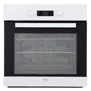Beko CIF81W Built In Electric Programmable Single Oven - White - A Rated - Appliance Village