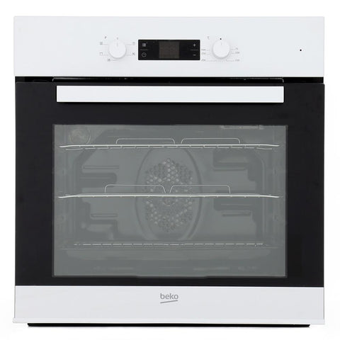 Beko CIF81W Built In Electric Programmable Single Oven - Appliance Village