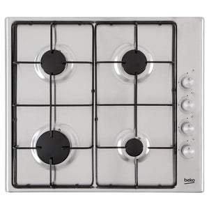 Beko CIHG21SX 60cm Gas Hob - Appliance Village