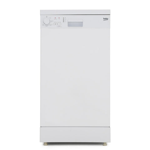 Beko DFS05C10W Slimline Dishwasher - White - A+ Rated - Appliance Village