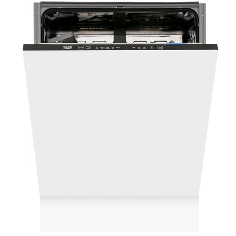 Beko DIN15C10 Integrated Full Size Dishwasher - A Rated - Appliance Village