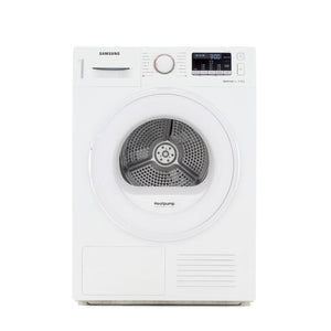 Samsung DV90M50001W 9kg Heat Pump Tumble - Dryer - White - A++ Rated - Appliance Village