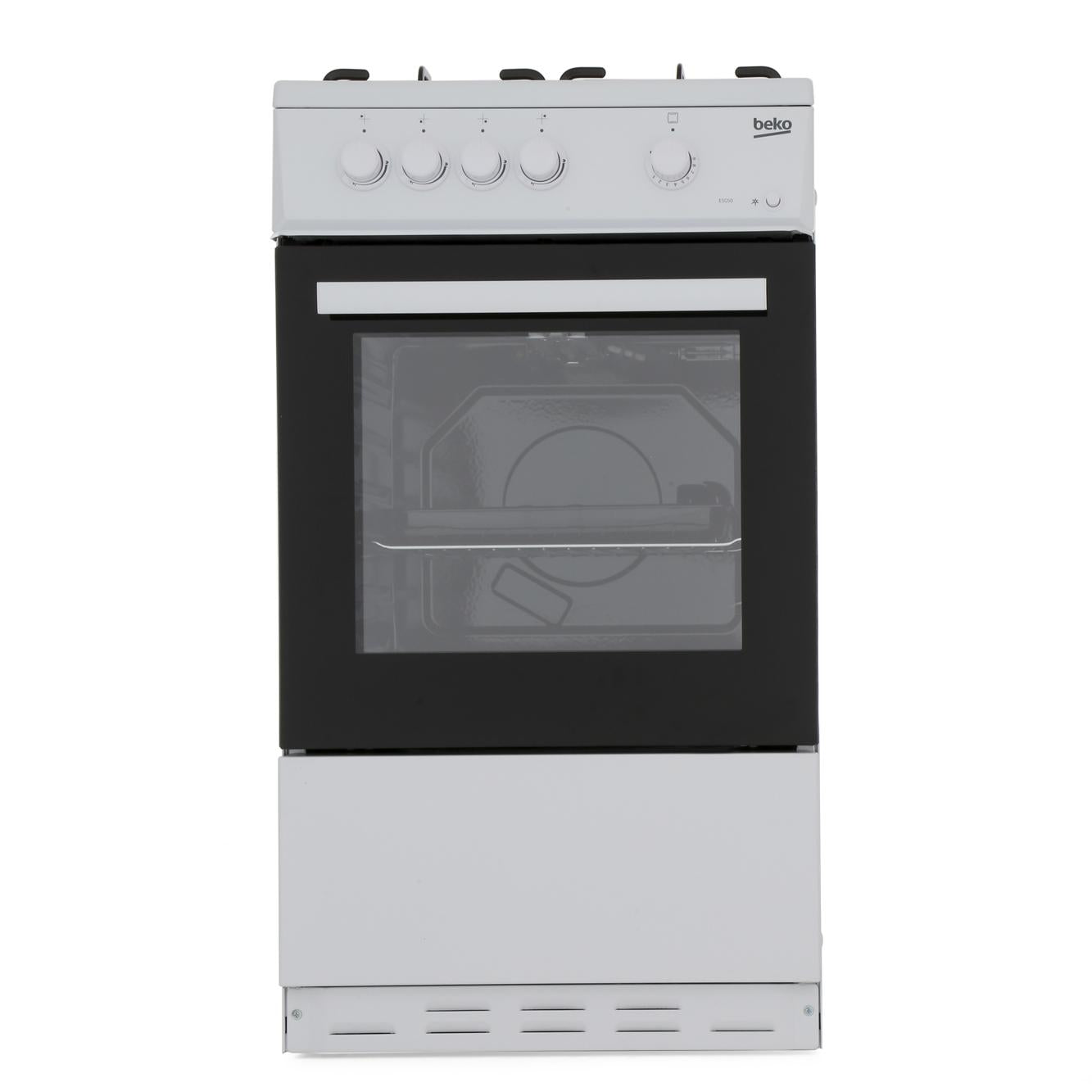 Beko ESG50W 50cm Single Oven Gas Cooker - Appliance Village