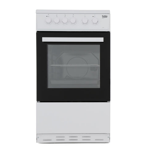 Beko ESP50W 50cm Single Oven Electric Cooker - Appliance Village