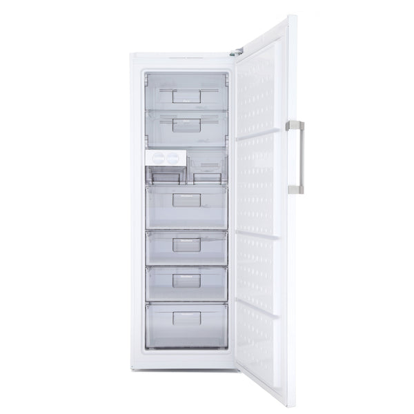 Blomberg FNT9673P 60cm Frost Free Tall Freezer - White - A+ Rated - Appliance Village