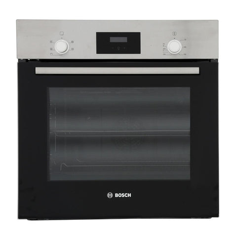 Bosch HHF113BR0B Built In Electric Single Oven - Stainless Steel - A Rated - Appliance Village