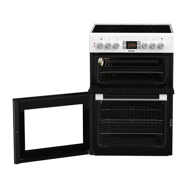 Blomberg HKN64W 60cm Double Oven Electric Cooker - Appliance Village