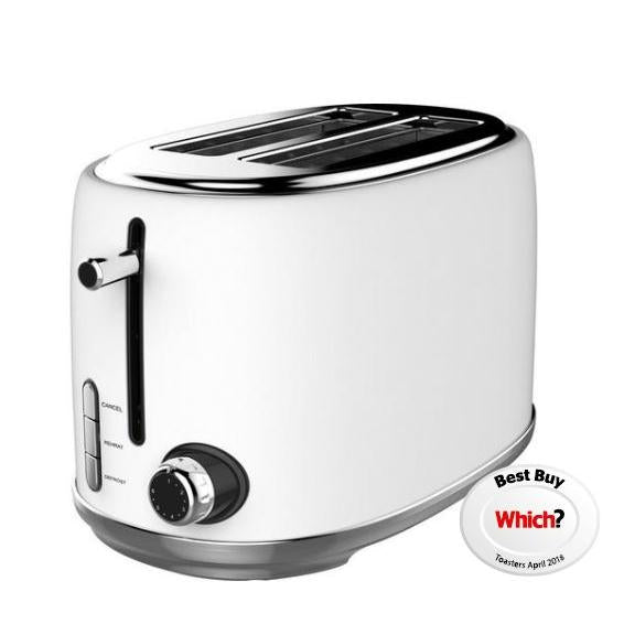 Linsar KY865WHITE 2 Slice Toaster - Appliance Village