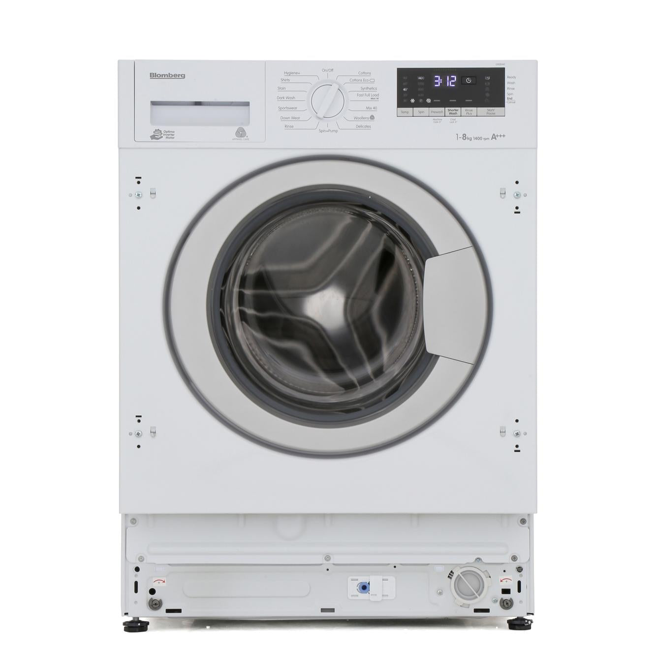 Blomberg LWI28441 Integrated 8kg 1400 Spin Washing Machine - Appliance Village