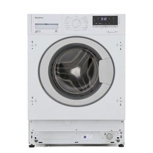 Blomberg LWI28441 Integrated 8kg 1400 Spin Washing Machine - White - A+++ Rated - Appliance Village