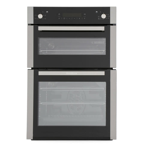 Blomberg ODN9462X Built In Programmable Touch Control Electric Double Oven - S/Steel - A+/A Rated - Appliance Village