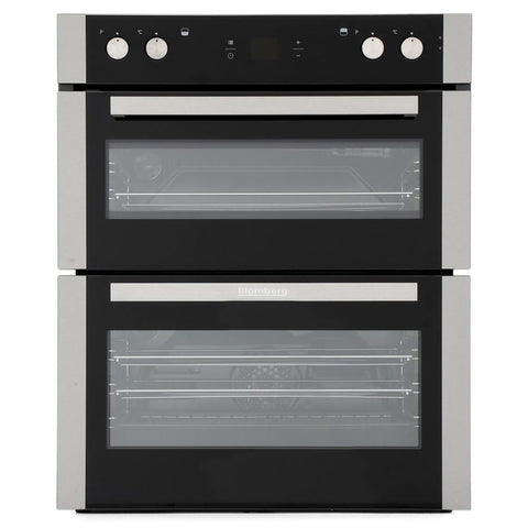 Blomberg OTN9302X Built In Built Under Programmable Electric Double Oven - S/Steel - A/A Rated - Appliance Village