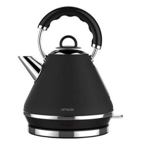Linsar PK117BLACK 1.7 Litre Pyramid Kettle - BLACK - Appliance Village