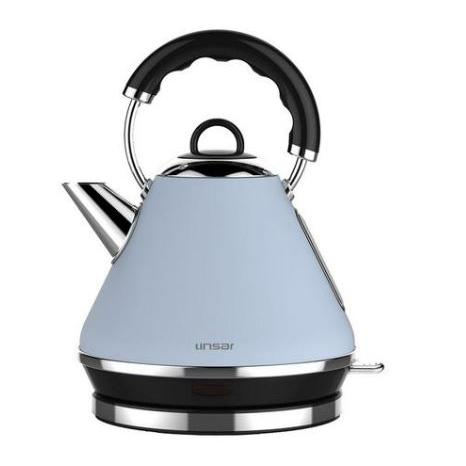 Linsar PK117BLUE 1.7 Litre Pyramid Kettle - BLUE - Appliance Village