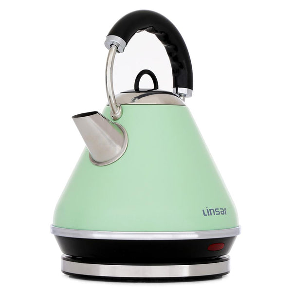 Linsar PK117GREEN 1.7 Litre Pyramid Kettle - Appliance Village