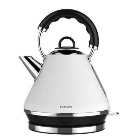 Linsar PK117WHITE 1.7 Litre Pyramid Kettle - Appliance Village