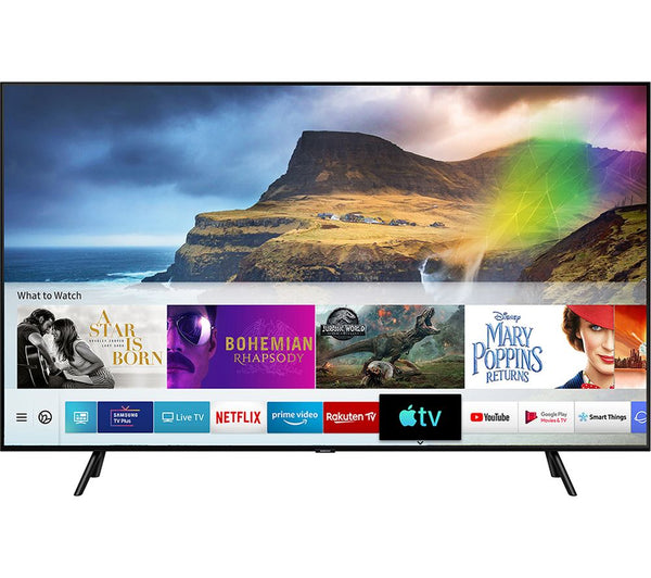 "Samsung QE75Q70RATXXU 75"" QLED 4K HDR Smart TV - Appliance Village"