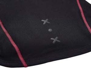 Women's fitted mid layer jacket detail