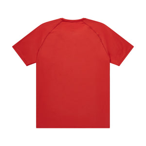 Men's loose stretch t-shirt back view