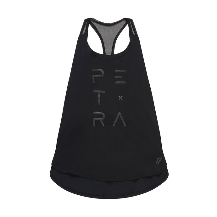 Women's loose tank top front view