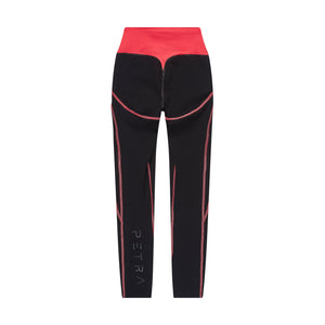Women's compression legging back view