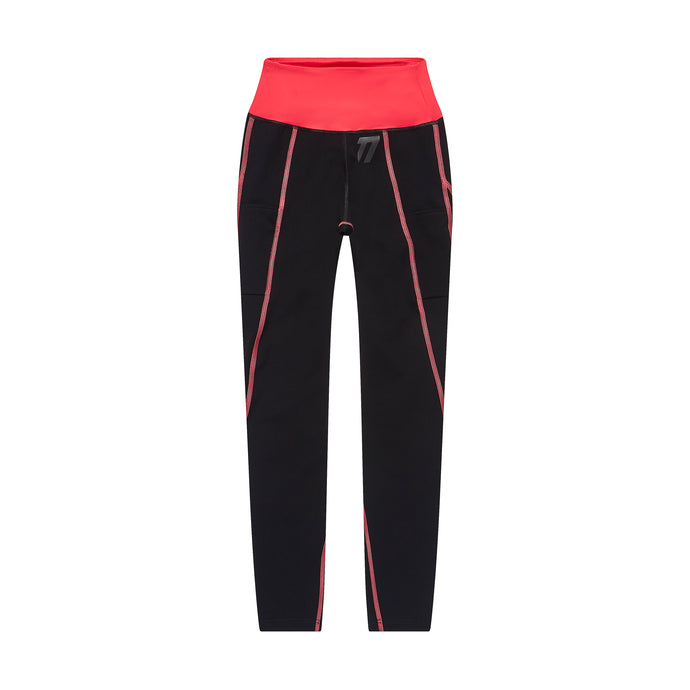Women's compression legging front view