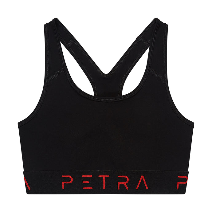 Women's sports bra front view