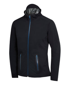 Soft shell waterproof jacket front view