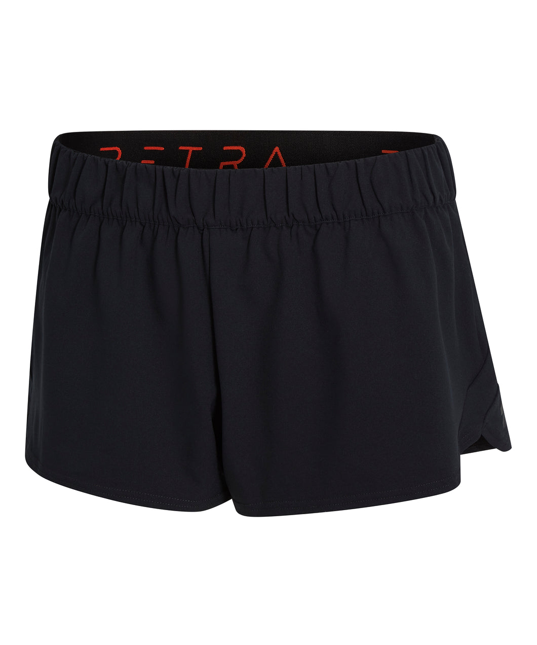 Technical running shorts front view