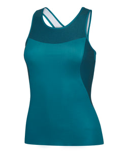 Fitted technical tank top front view