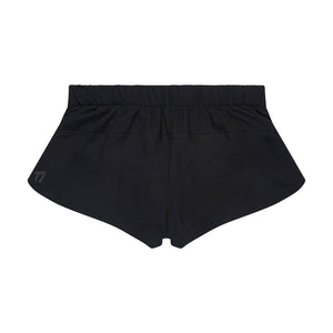 Women's running shorts back view
