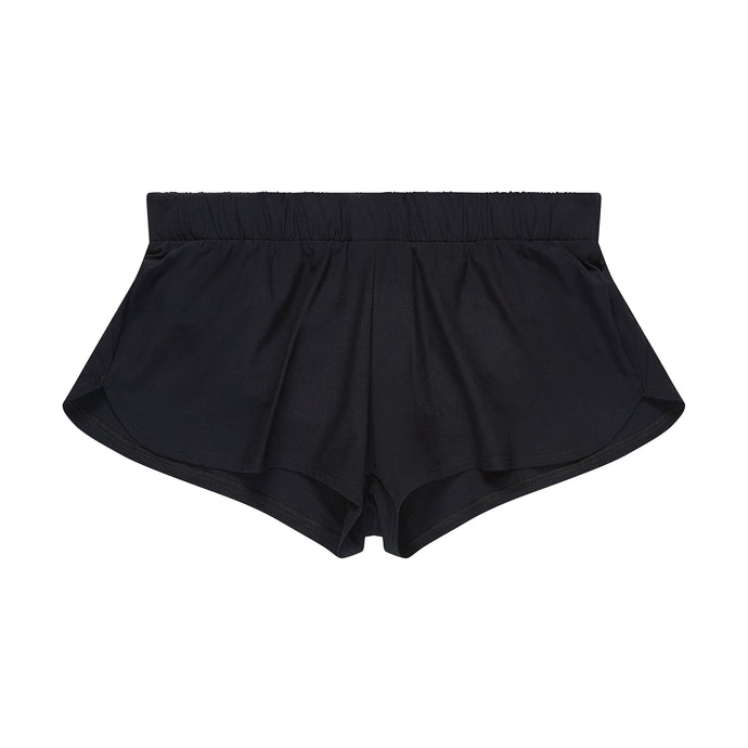 Women's running shorts front view