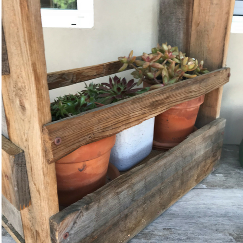Pallet Wood Caddy