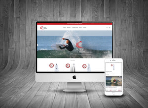 Surf 'n Show Website