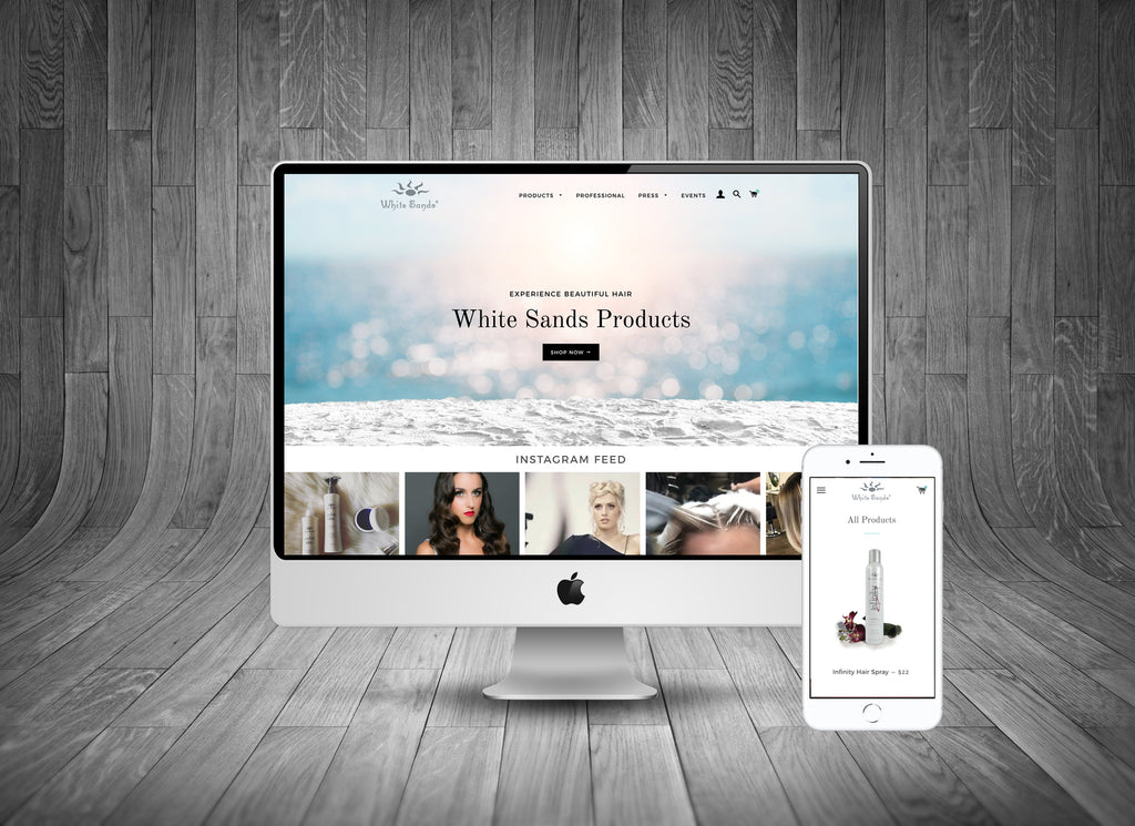 White Sands Products Website