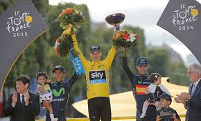froome tour de france podium