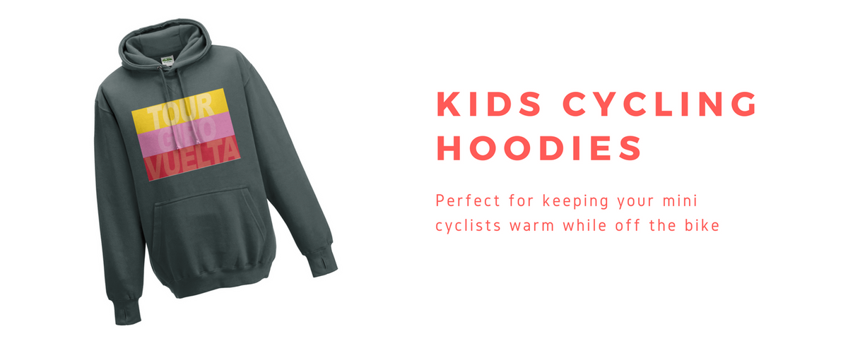 kids cycling hoodies