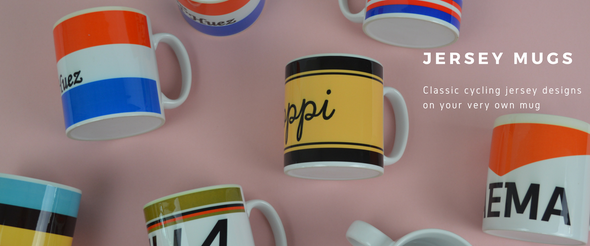 cycling jersey mugs