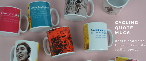 cycling quote mugs