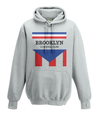 brooklyn chewing gum kids hoodie grey