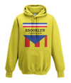 brooklyn chewing gum kids hoodie yellow